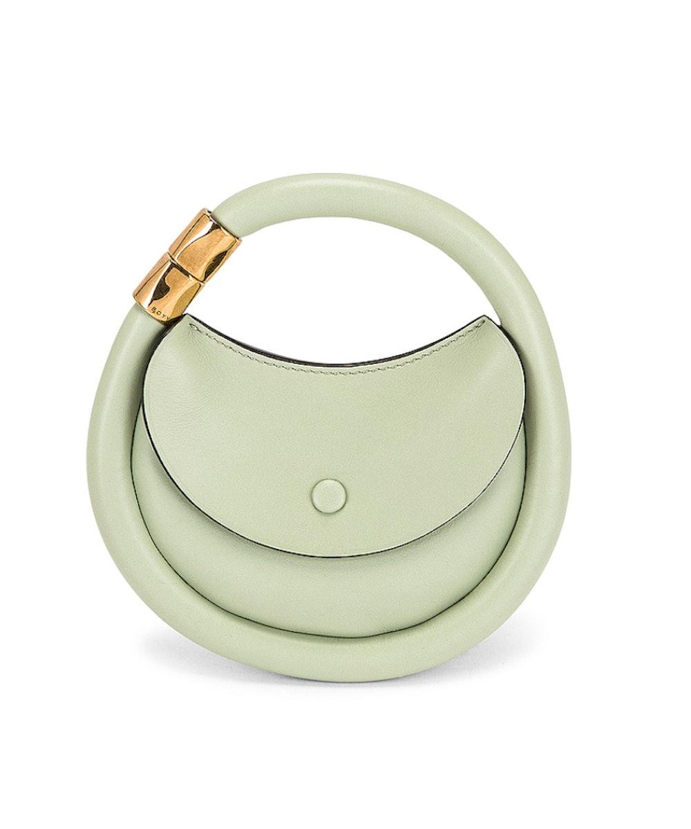 Disc Bag in Pistachio