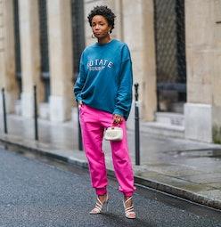 Ellie Delphine street style look