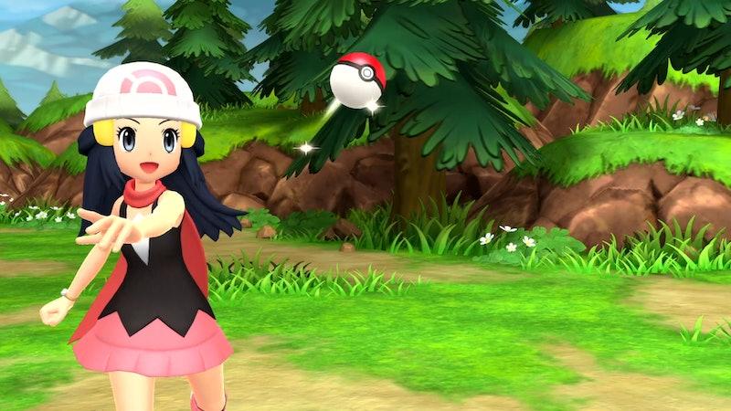 screenshot of pokemon brilliant diamond & shining pearl