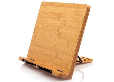 Pipishell Bamboo Book Holder