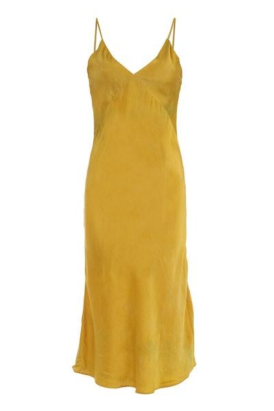 Vee Midi Slip Dress