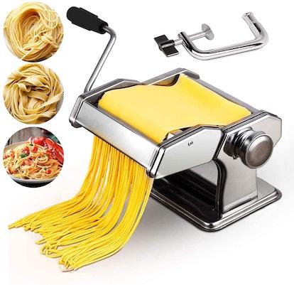Sailnovo 2-in-1 Pasta Maker and Dough Roller