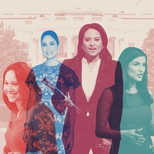 Nancy Cordes, Cecilia Vega, Kristen Welker, and Kaitlan Collins lead their networks.