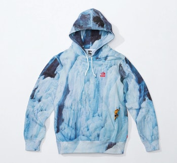 Supreme x The North Face Spring 2021 hoodie