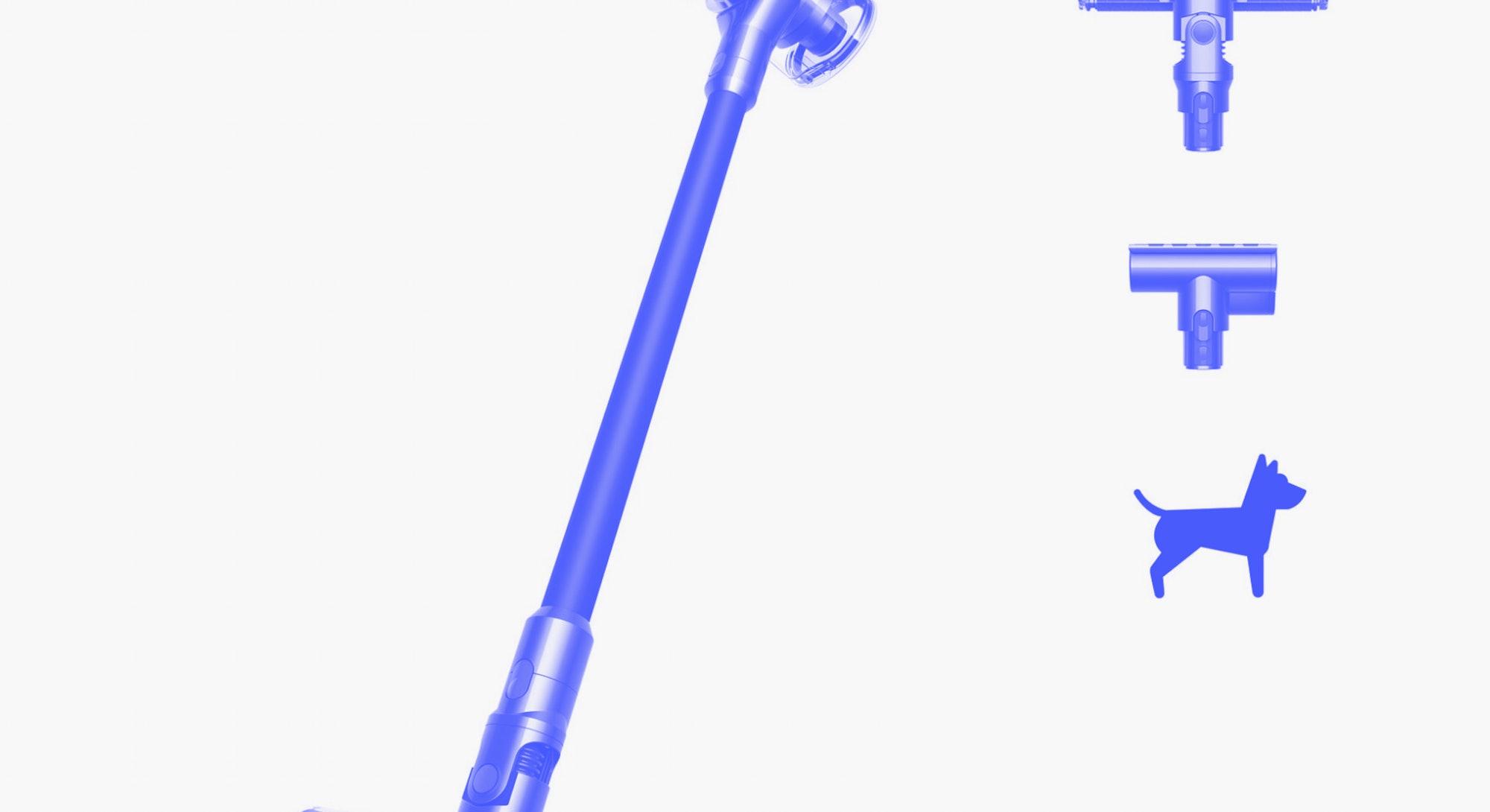 V7 Fluffy cordless vacuum