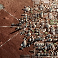 SpaceX Mars city: simulation reveals what Elon Musk is still missing