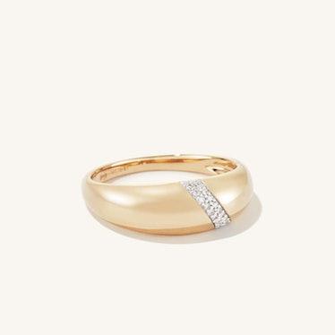 Pavé Diamond Dôme Ring