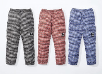 Supreme x The North Face Spring 2021 puffer pants