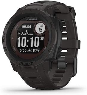 Garmin 010-02293-10 Instinct Solar-Powered Smartwatch
