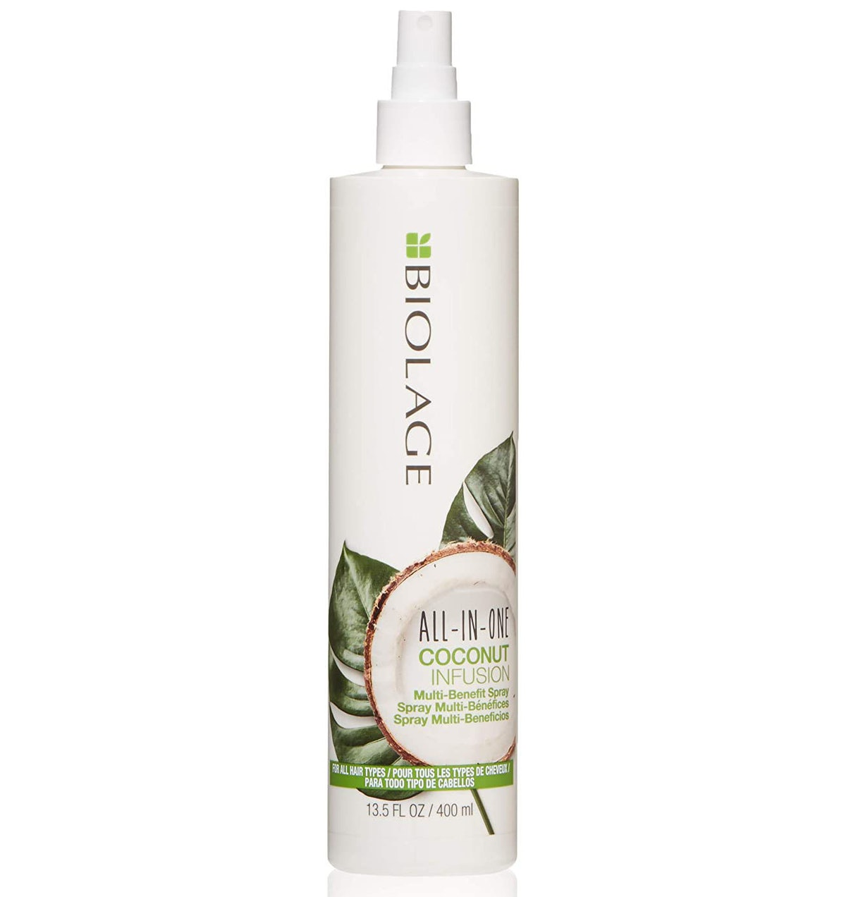 BIOLAGE All-In-One Coconut Infusion Multi-Benefit Treatment Spray