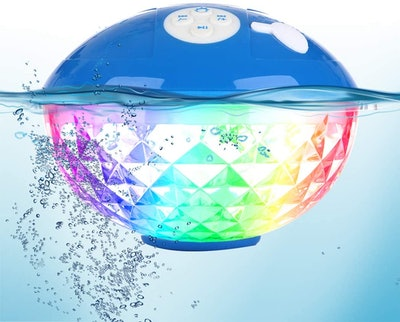Blufree Bluetooth Speaker With Colorful Light