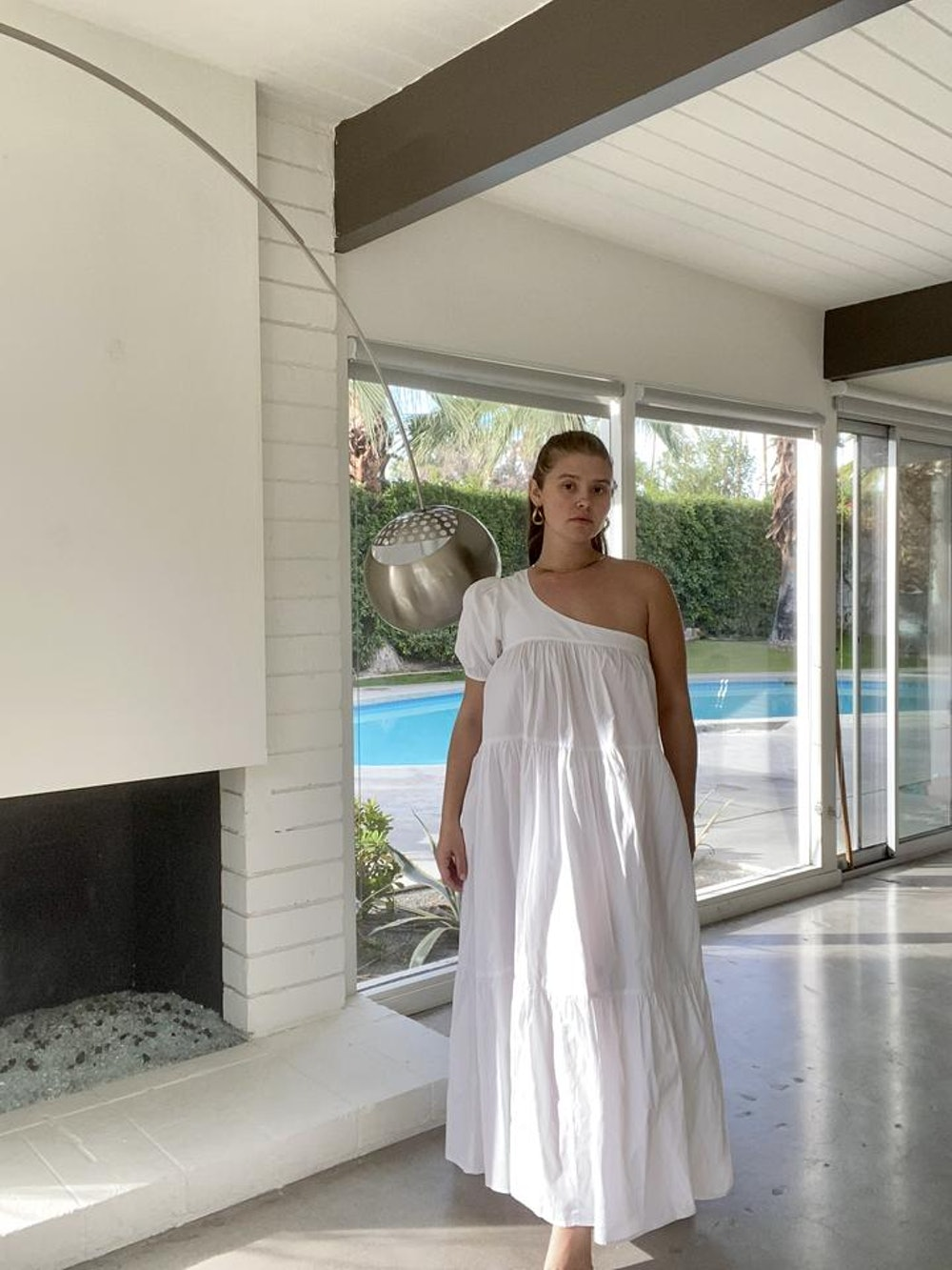 Yang Dress in White