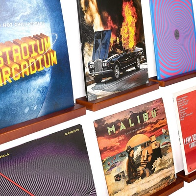 Karavella Vinyl Record Shelf Display (6-Pack)