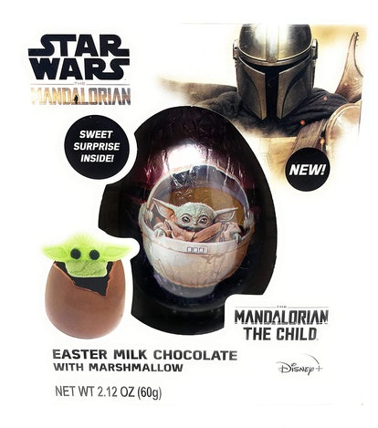 Baby Yoda Star Wars Mandalorian Hot Chocolate Melting Bomb with Marshmallow Easter Basket Stuffer