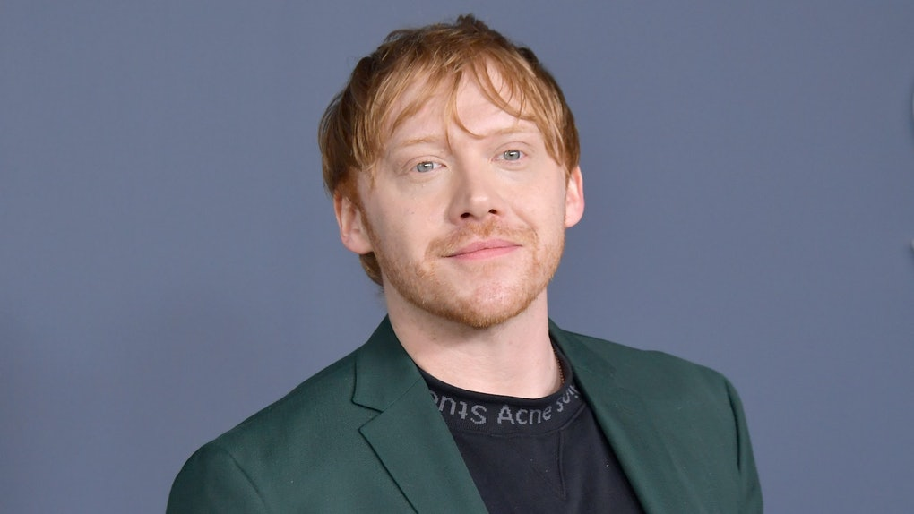Rupert Grint's one condition for reprising his Ron Weasley role in any future 'Harry Potter' projects is that the rest of the cast come back.
