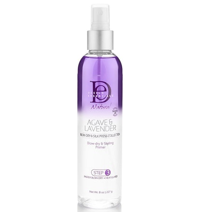 Design Essentials Agave & Lavender Moisturizing Blow Dry & Styling Primer