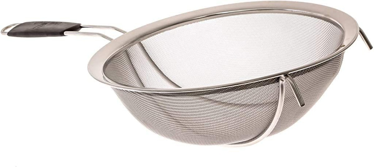 LiveFresh Large Stainless Steel Fine Mesh Strainer