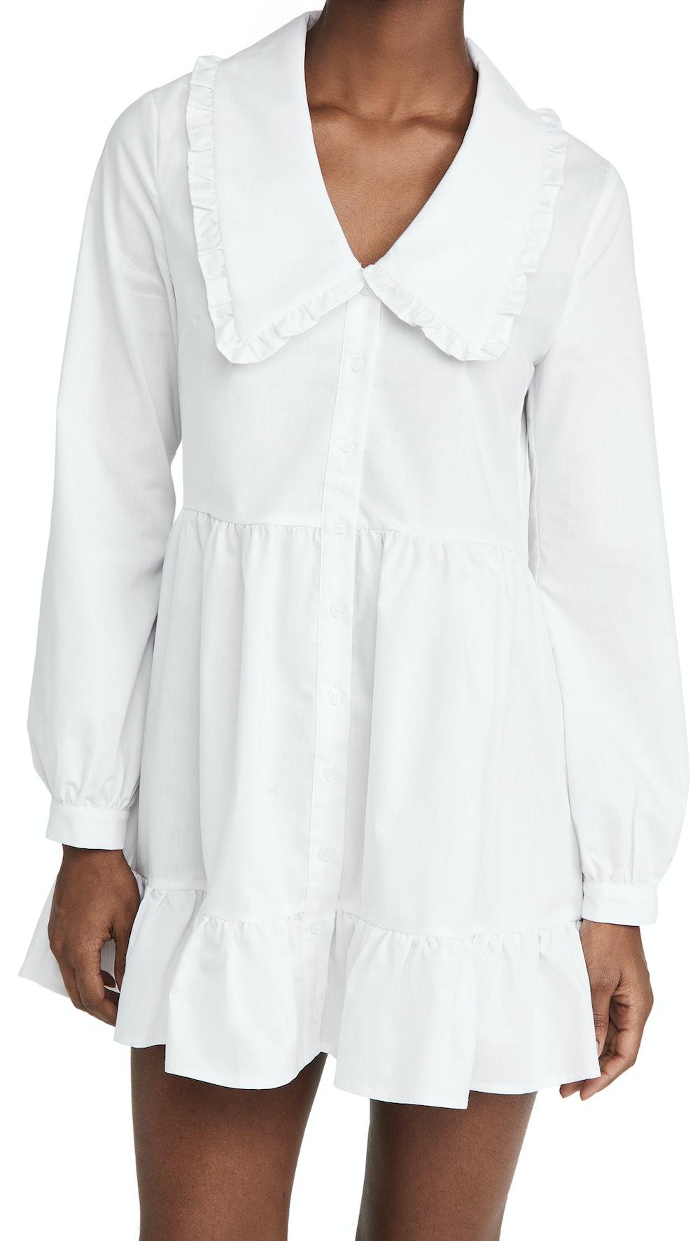 Eli Large Collared Dress