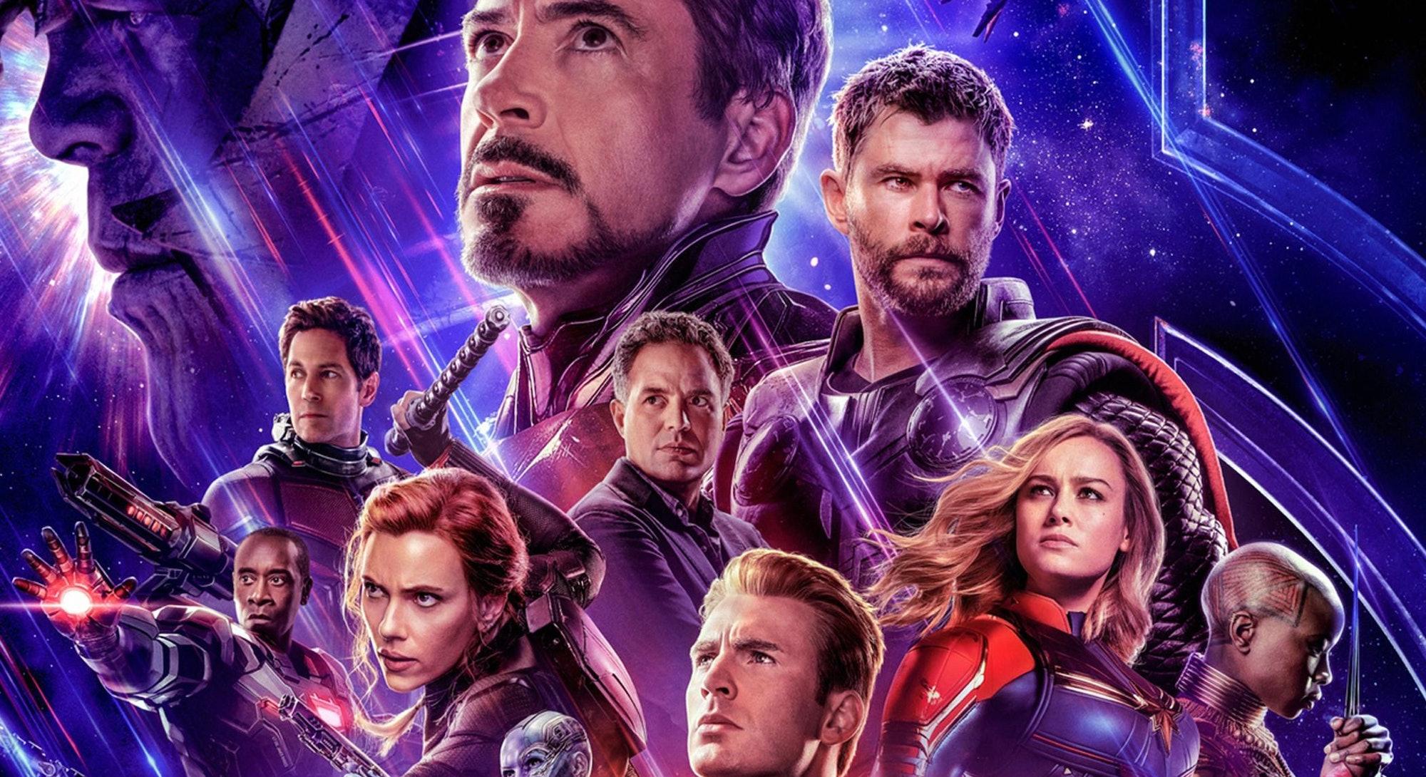 avengers endgame character poster