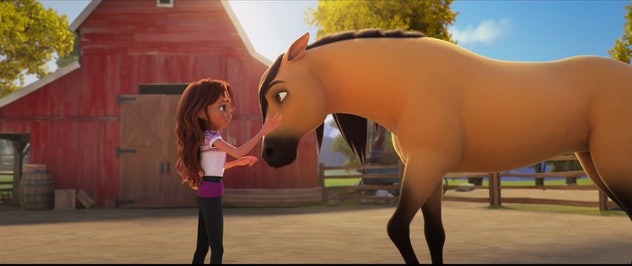 Horses take center stage in animated film, Spirit Untamed.