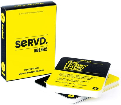 SERVD Couples Card Game