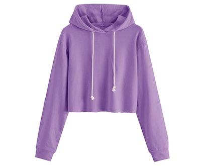 MAKEMECHIC Cropped Sweatshirt