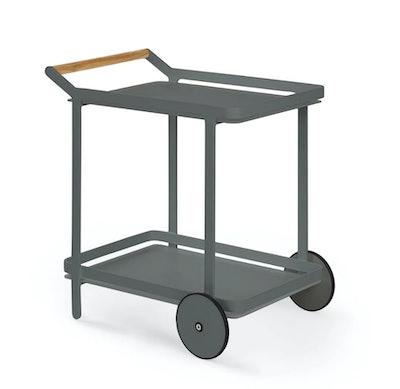 Boden Dark Gray Bar Cart