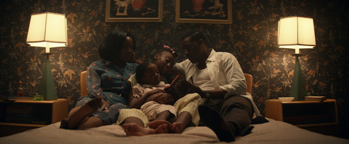 Them - Emory family in bed