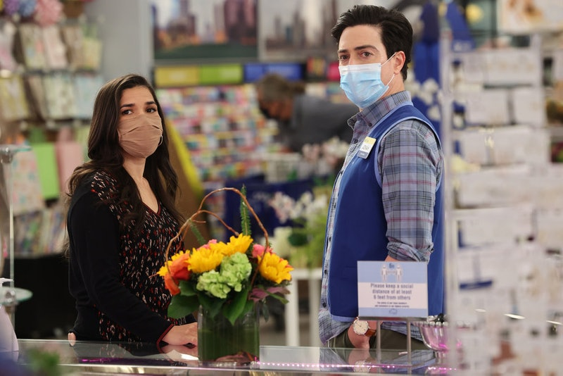 Jonah and Amy finally reunited on the series finale of 'Superstore.' Photo via NBC