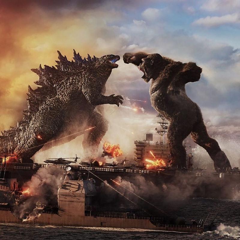 Godzilla and King Kong duke it out in 'Godzilla vs. Kong.'