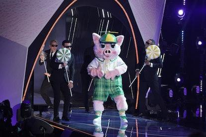 Piglet in 'The Masked Singer' via FOX press site.