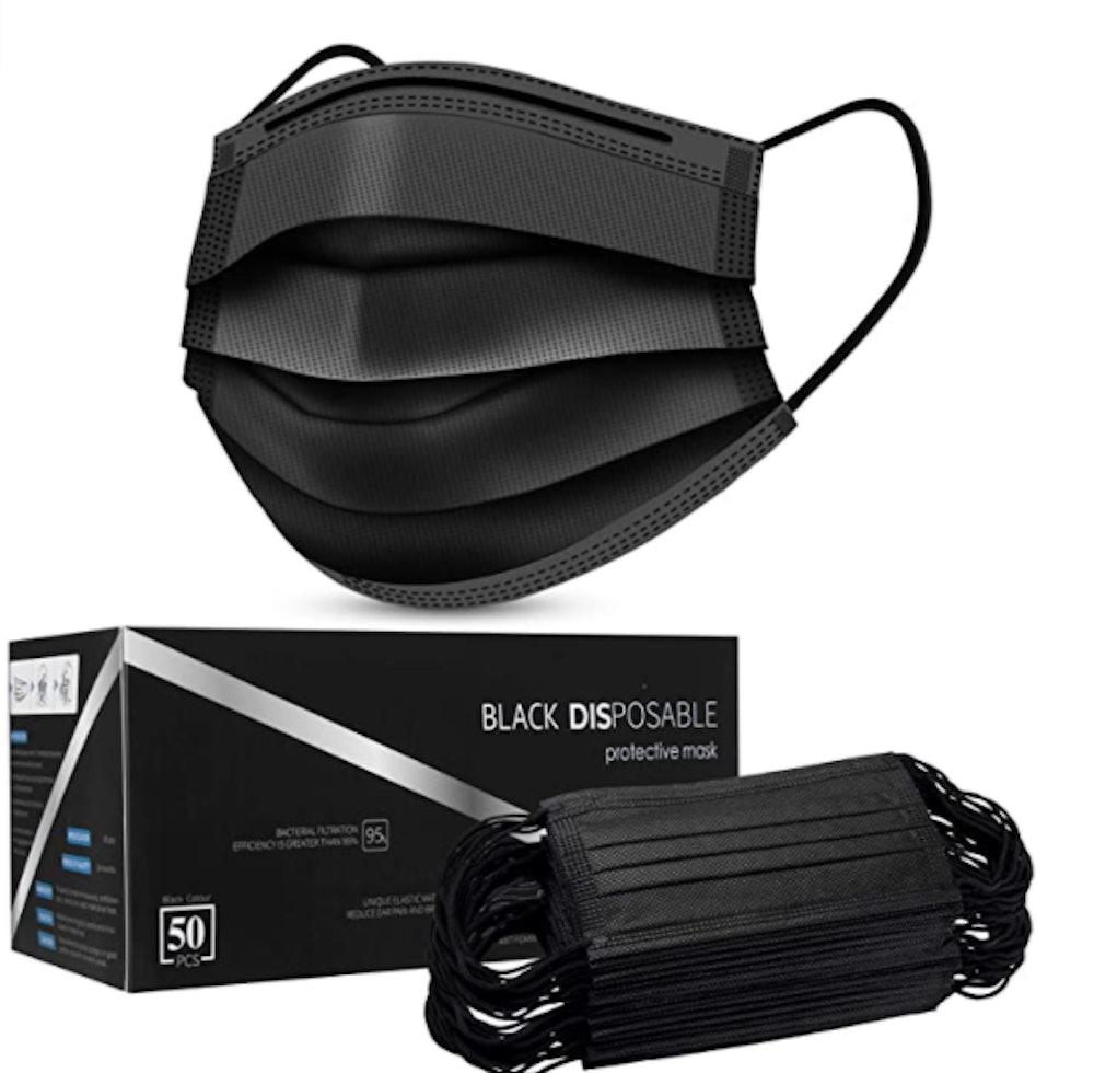 SUDILO Disposable Face Masks (50-Pack)