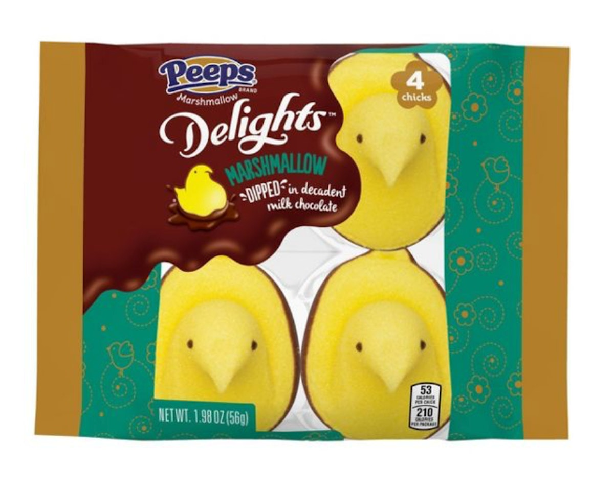 Peeps Easter Delight Milk Chocolate Dipped Chick
