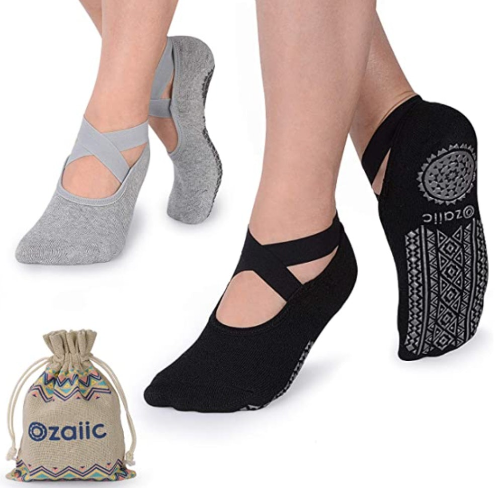 Ozaiic Yoga Socks (2 Pairs)