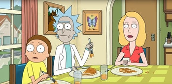 rick and morty breakfast