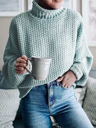 TECREW Chunky Turtleneck Sweater