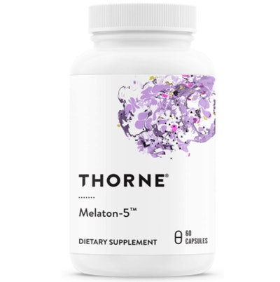 Thorne Research Melaton-5 Melatonin Supplement (60 Count)