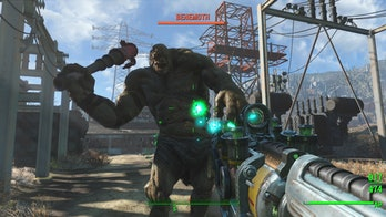 fallout 4 bethesda behemoth rpg first-person combat
