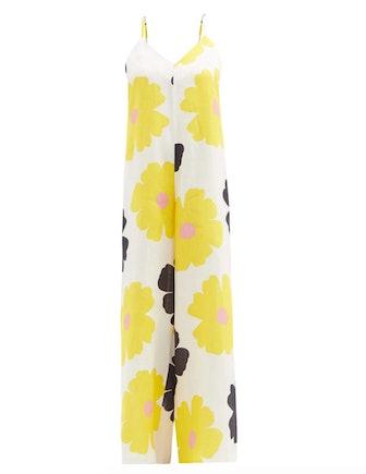 Paulina Floral Print Jumpsuit