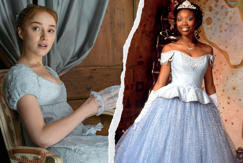 4 'Bridgerton' & 'Cinderella' Costumes With Similar Hidden Meanings
