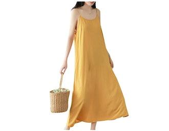 YESNO JEL Maxi Slip Dress