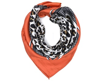 YOUR SMILE Square Satin Scarf