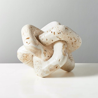 Via Large Travertine Knot