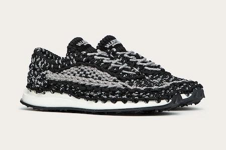 Valentino Garavani Crochet Sneaker