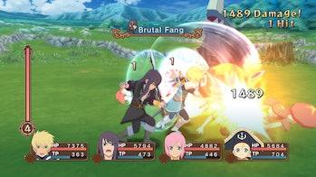 tales of vesperia combat system active rpg