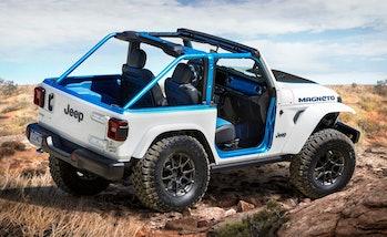 The Jeep Wrangler Magneto concept