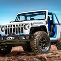 The Jeep Wrangler Magneto concept front