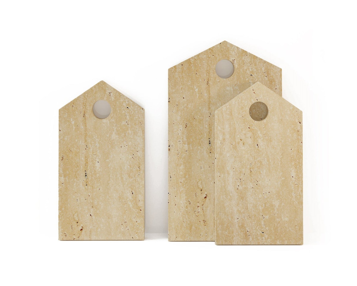 Travertine Cutting Board