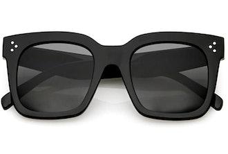 zeroUV Oversized Square Sunglasses