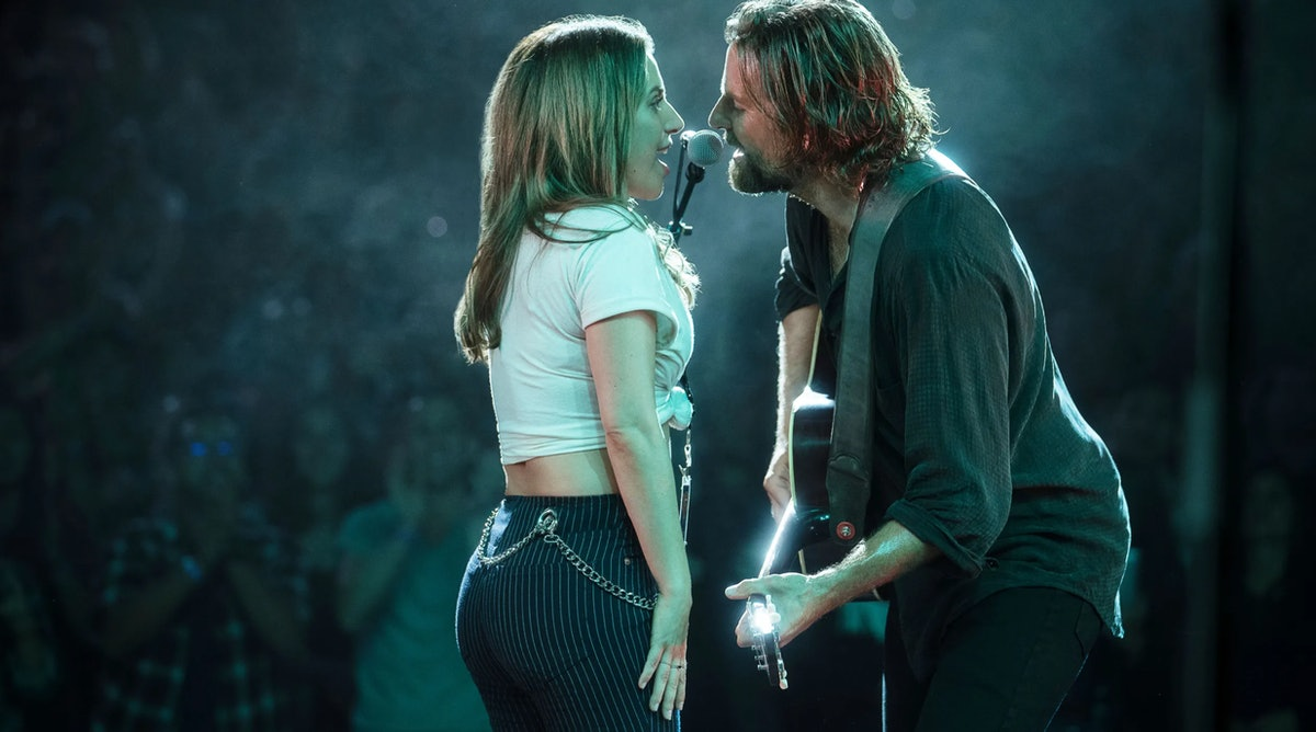 """Lady Gaga and Bradley Cooper perform """"Shallow."""""""